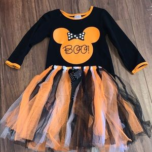 4T Minnie Shirt and TuTu